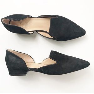 Franco Sarto Black Scarletta Flats size 7.5 Shoes